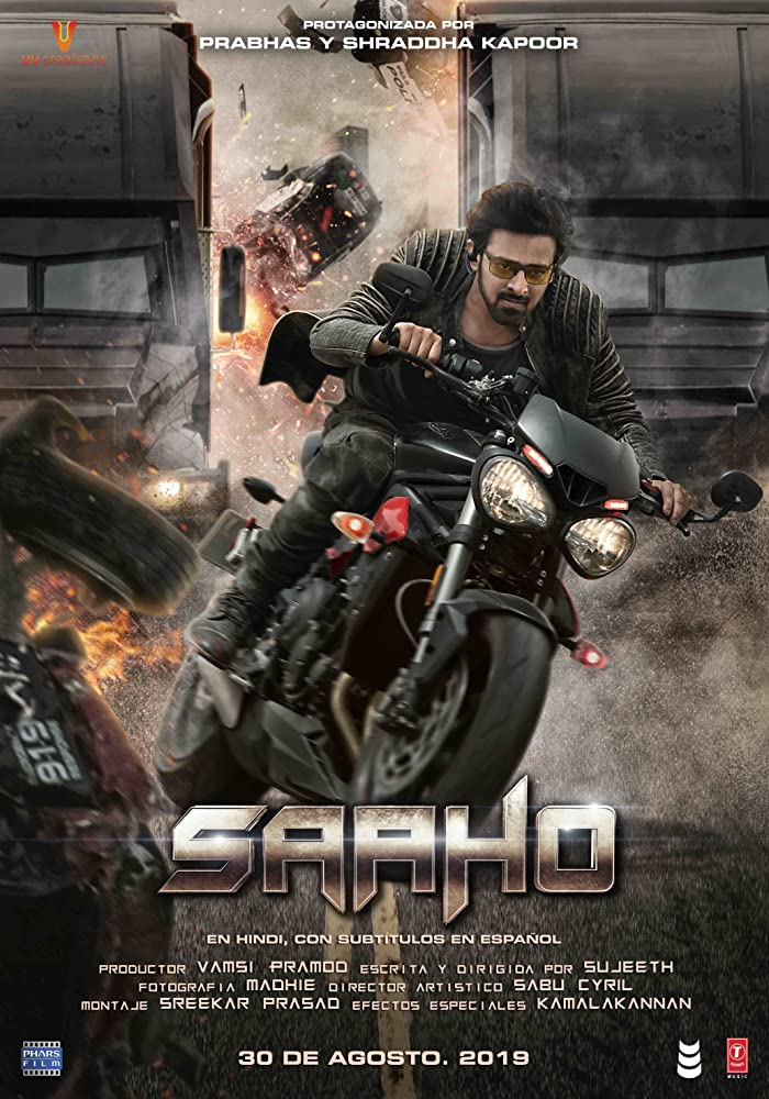 Saaho 2019 Hindi Movie DVDScr 720p x264 1.2GB
