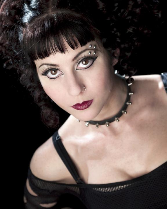 Molly Morgan goth