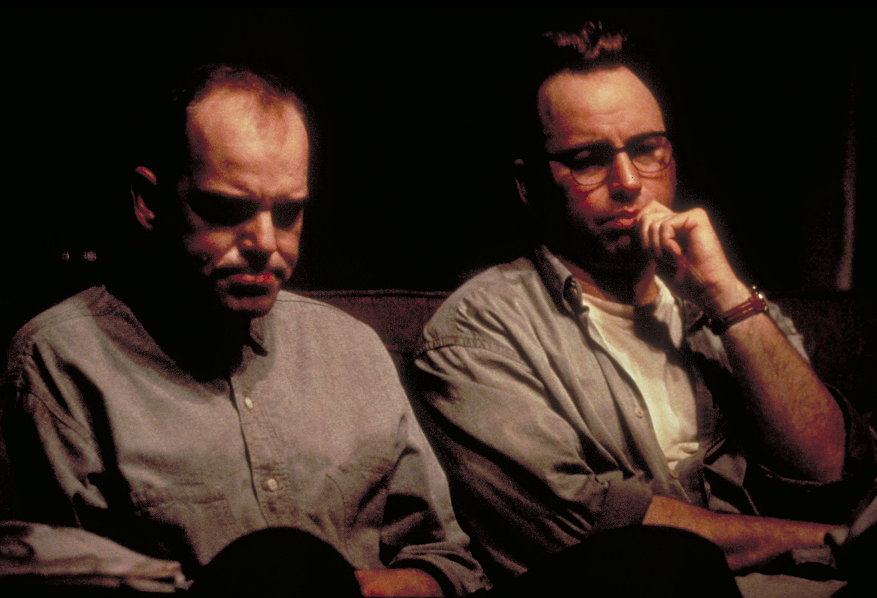 John Ritter and Billy Bob Thornton in Sling Blade (1996)