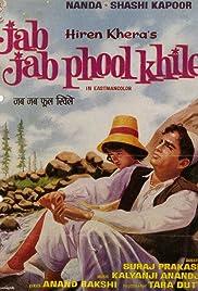 Jab Jab Phool Khile(1965) Poster - Movie Forum, Cast, Reviews