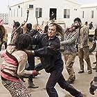 Kim Dickens and Frank Dillane in Fear the Walking Dead (2015)