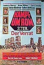 Kampf um Rom II - Der Verrat Poster