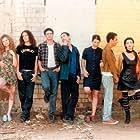 Uri Banai, Orly Ben-Garti, Shula Chen, Sami Huri, Dana Modan, Karin Ophir, Ami Smolartchik, Yaakov Yaakobson, and Roi Levi in Florentine (1997)