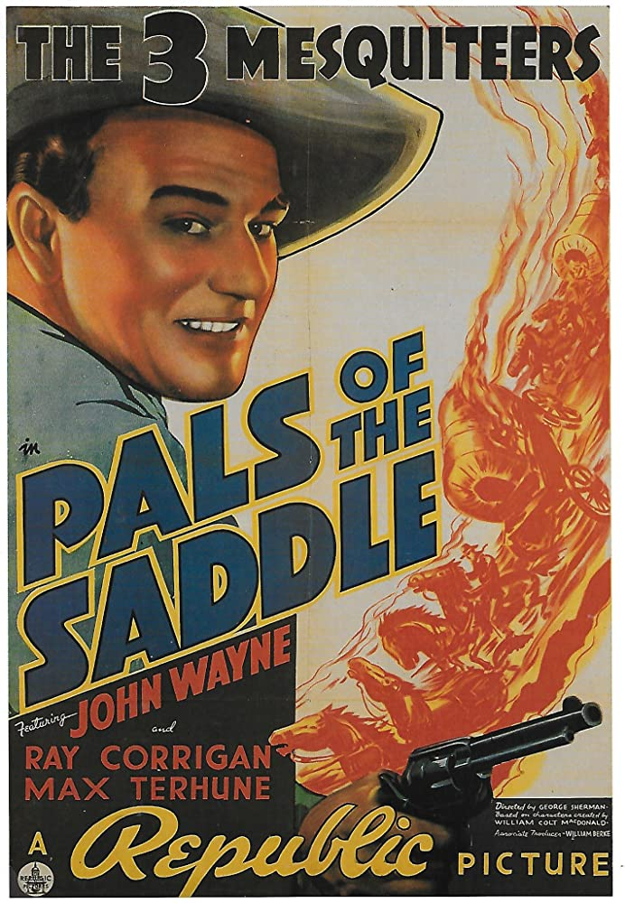 John Wayne in Pals of the Saddle (1938)