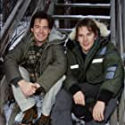 Ethan Hawke and Kyle MacLachlan at an event for Hamlet (2000)