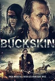 Robert Keith, Tom Zembrod, and Jeremy Gauna in Buckskin (2021)