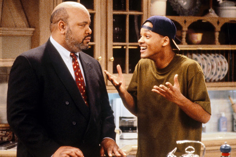 Will Smith and James Avery in The Fresh Prince of Bel-Air (1990)