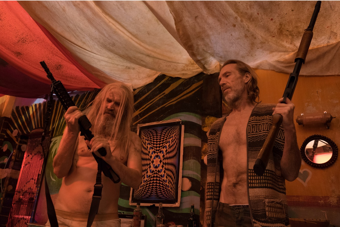 Richard Brake and Bill Moseley in 3 from Hell (2019)
