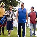 Jon Lovitz, Rob Schneider, David Spade, and Jon Heder in The Benchwarmers (2006)