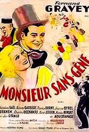 Monsieur Sans-Gêne Poster