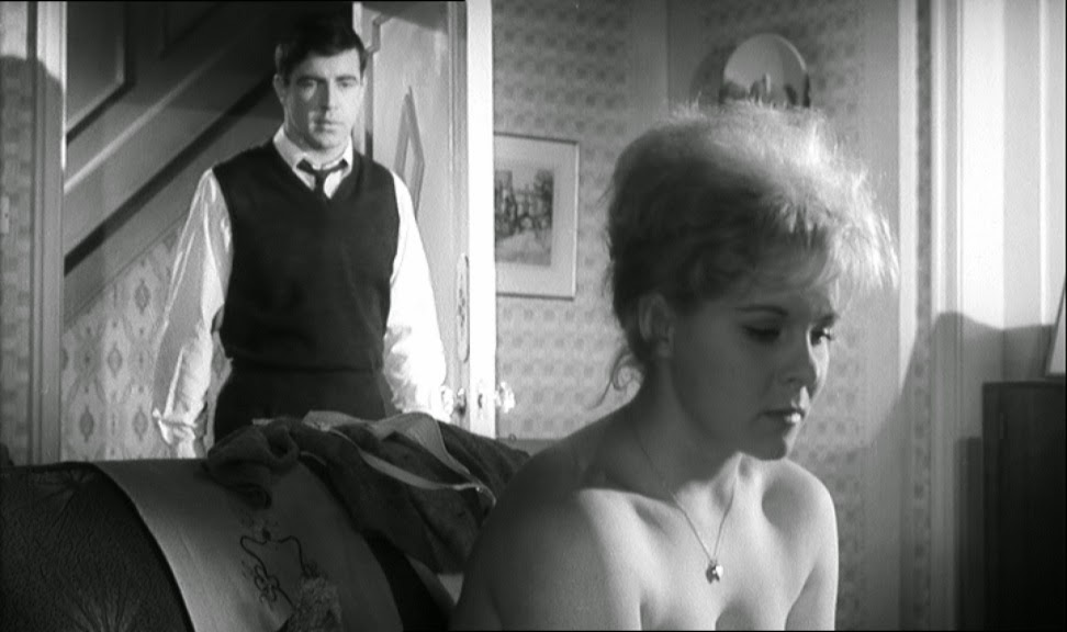 Alan Bates and June Ritchie in A Kind of Loving (1962)