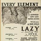 Buck Jones and Virginia Marshall in Lazybones (1925)