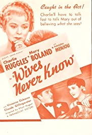 Wives Never Know Poster