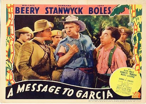 Wallace Beery, John Boles, and Herbert Mundin in A Message to Garcia (1936)