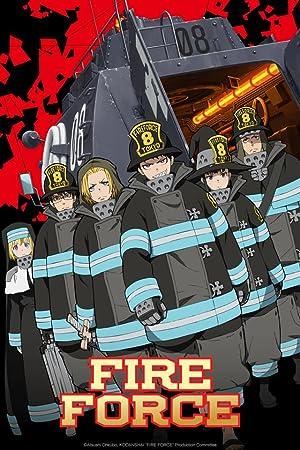 دانلود زیرنویس فارسی سریال Fire Force 2019 هماهنگ با نسخه نامشخص