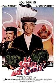 La soupe aux choux (1981) Poster - Movie Forum, Cast, Reviews