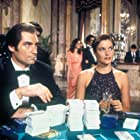 Carey Lowell and Timothy Dalton in Licence to Kill (1989)