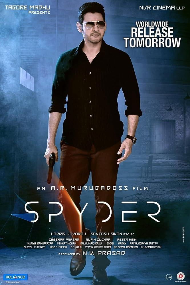 Spyder (2017) Hindi Dubbed