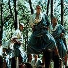 Billy Chang, Daniel Dae Kim, and Reese Madigan in American Shaolin (1991)