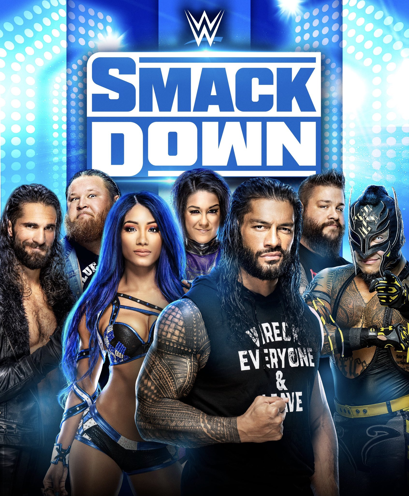 WWE Friday Night SmackDown (22nd October 2021) English 480p HDRip 340MB Download