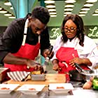 Kayla Hardin and Eric Adjepong in Top Chef Amateurs (2021)