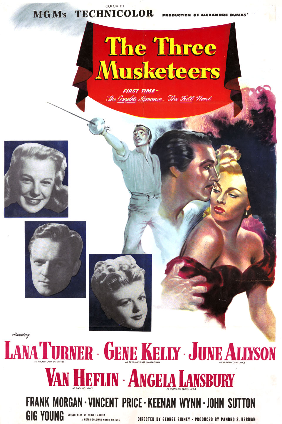 The Three Musketeers 1948 Imdb