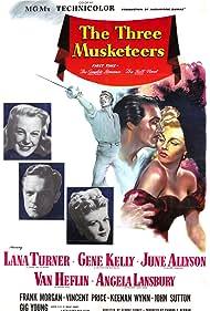 Gene Kelly, June Allyson, Van Heflin, Angela Lansbury, and Lana Turner in The Three Musketeers (1948)