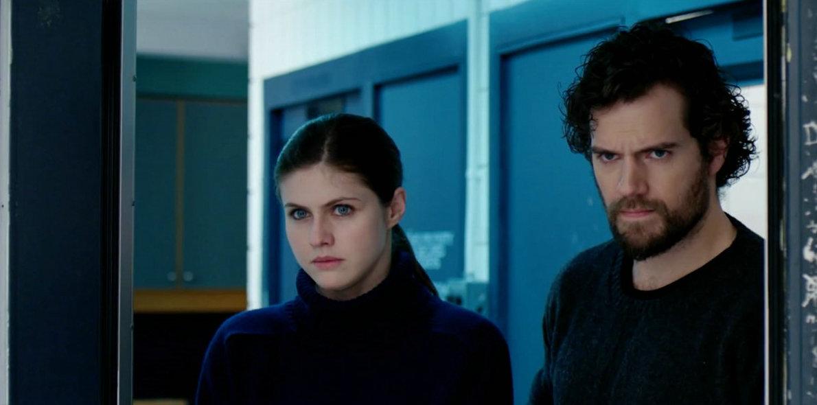 Henry Cavill and Alexandra Daddario in Nomis (2018)