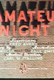 Hamateur Night Poster