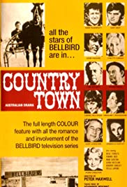 Country Town Poster