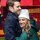 Travis Nelson and Michelle Argyris in Homemade Christmas (2020)