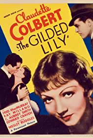Claudette Colbert, Ray Milland, and Fred MacMurray in The Gilded Lily (1935)