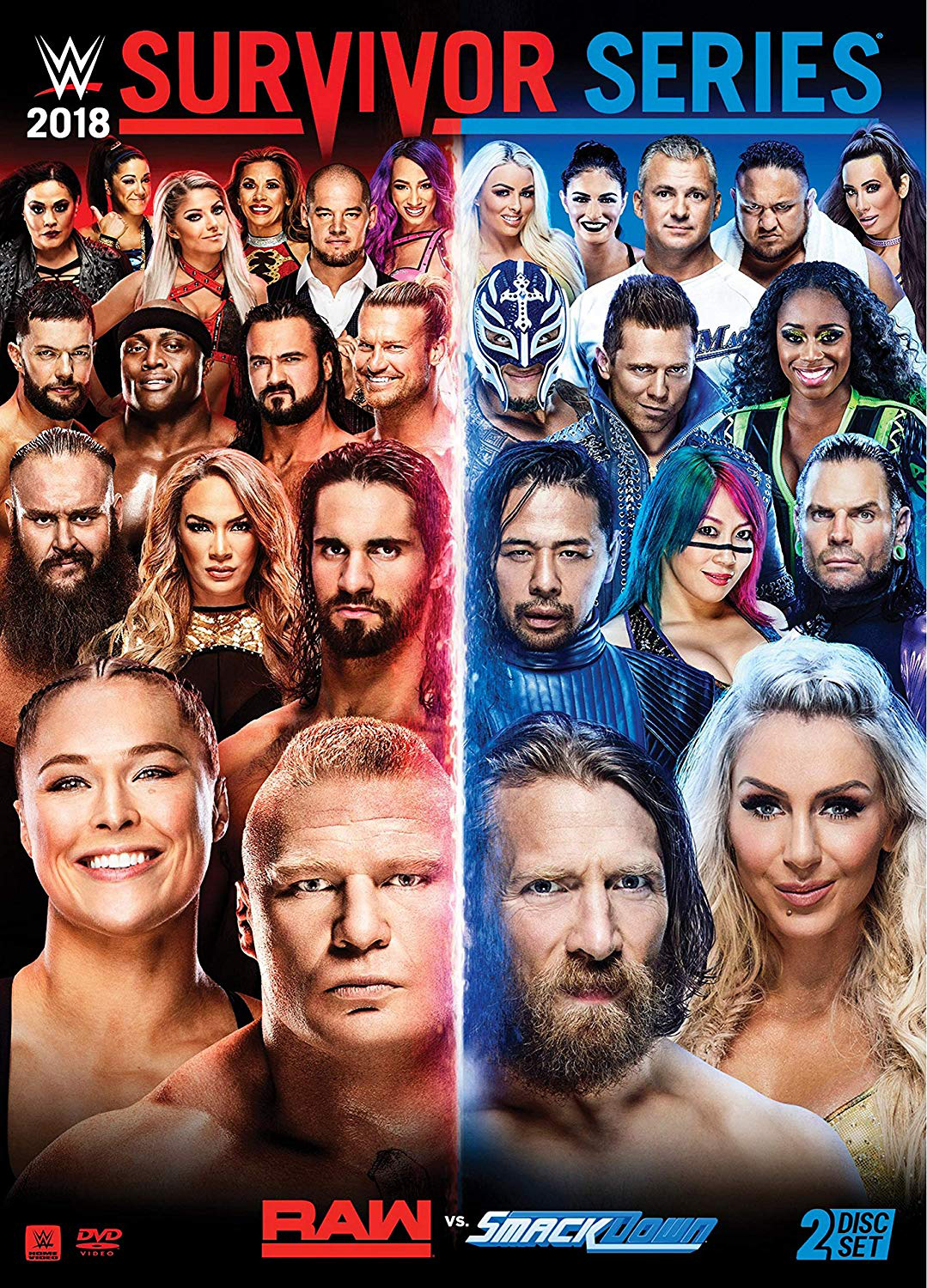 WWE Charlotte Flair Collage Poster