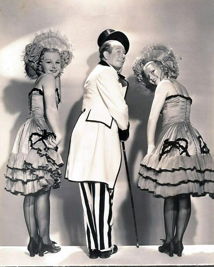 Harriette Haddon, Bert Lahr, and Louise Seidel in Zaza (1938)