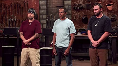 Forged In Fire: Bolt Chop Blade Test