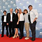 Frédéric Fonteyne, Jan Hammenecker, Sergi López, Zacharie Chasseriaud, Anne Paulicevich, and David Murgia at an event for Tango libre (2012)