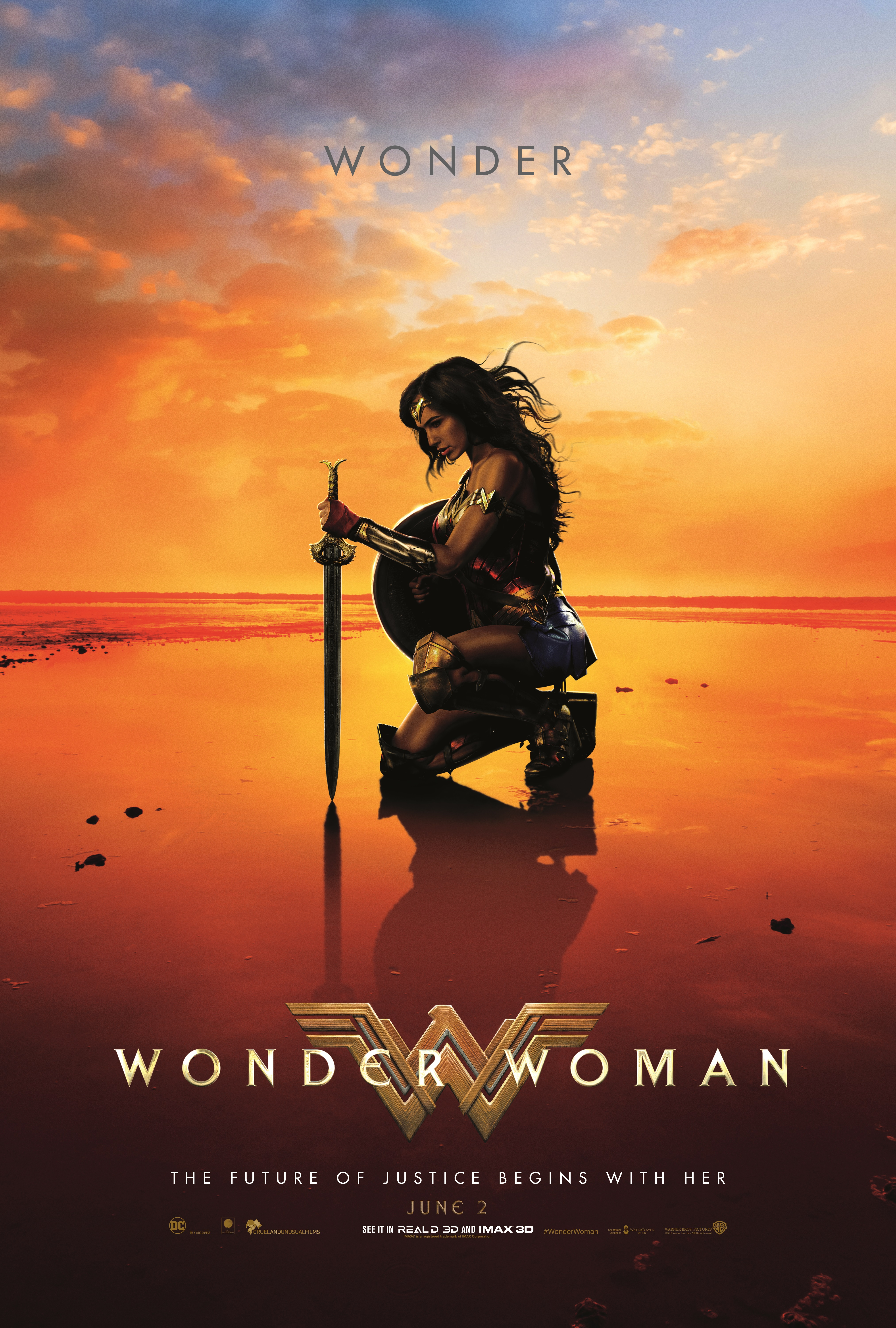 Wonder Woman (2017) BluRay 480p, 720p & 1080p