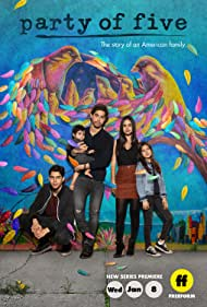 Brandon Larracuente, Niko Guardado, Emily Tosta, and Elle Paris Legaspi in Party of Five (2020)