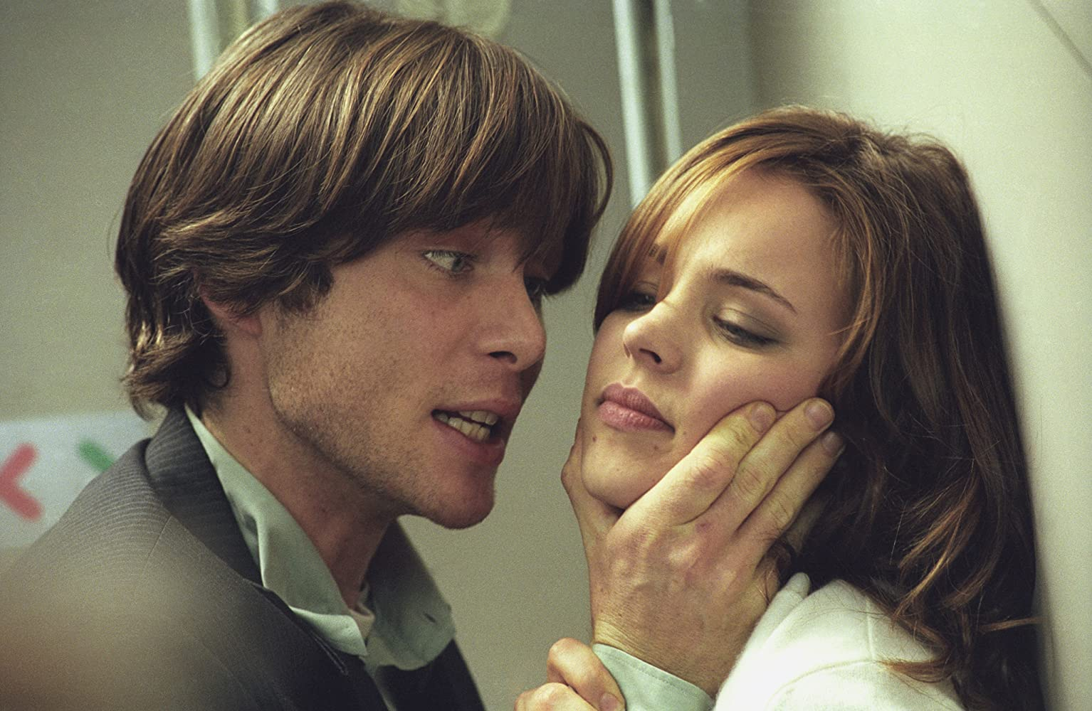 Cillian Murphy and Rachel McAdams in Red Eye (2005)