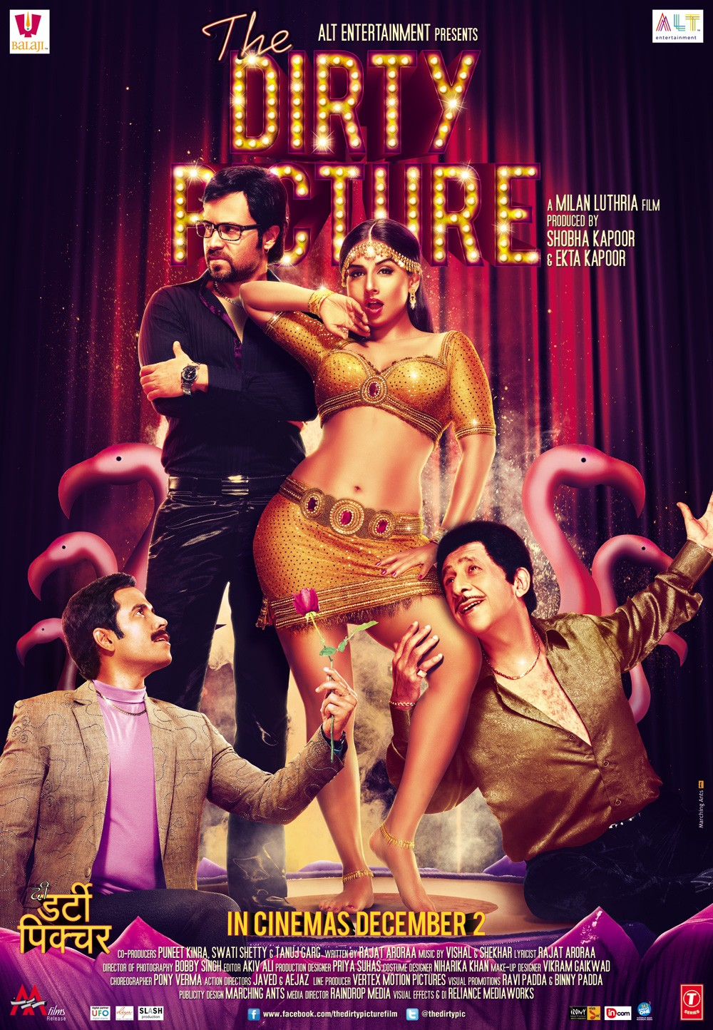 The Dirty Picture (2011) Hindi Full Movie 720p Download