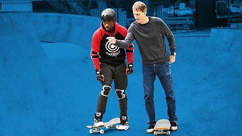 Tony Hawk Teaches Jay to Skateboard