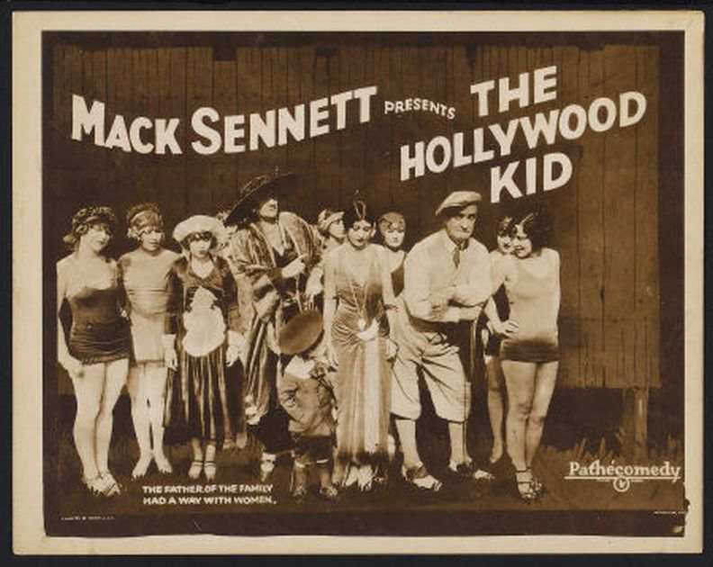 Margaret Cloud, Dorothy Dorr, Cecille Evans, Evelyn Francisco, Phyllis Haver, Thelma Hill, Madeline Hurlock, Natalie Kingston, Charles Murray, Marie Prevost, and Gladys Tennyson in The Hollywood Kid (1924)