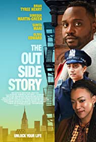 Sonequa Martin-Green, Brian Tyree Henry, and Sunita Mani in The Outside Story (2020)