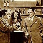Carlo Campanini, Carlo Dapporto, and Adriana Serra in 11 uomini e un pallone (1948)