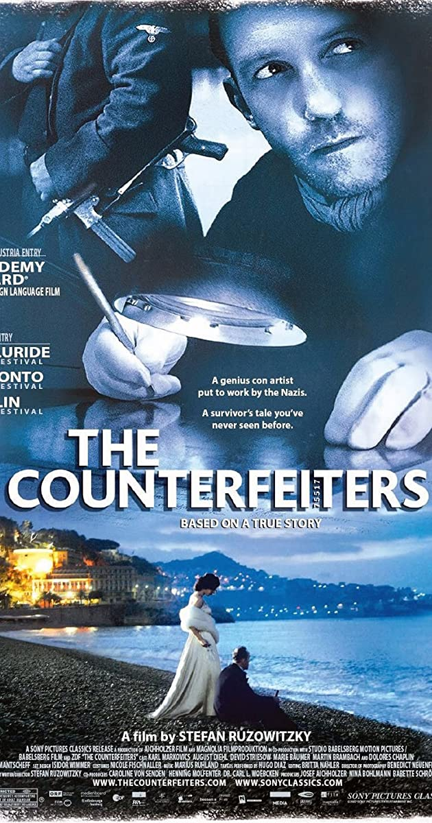 Subtitle of The Counterfeiters