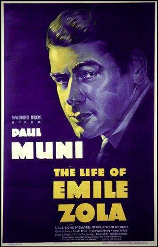Paul Muni in The Life of Emile Zola (1937)