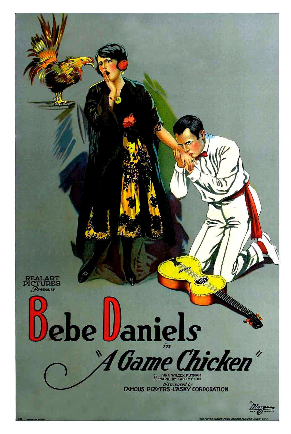 A Game Chicken (1922)