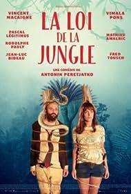 Vincent Macaigne and Vimala Pons in La loi de la jungle (2016)