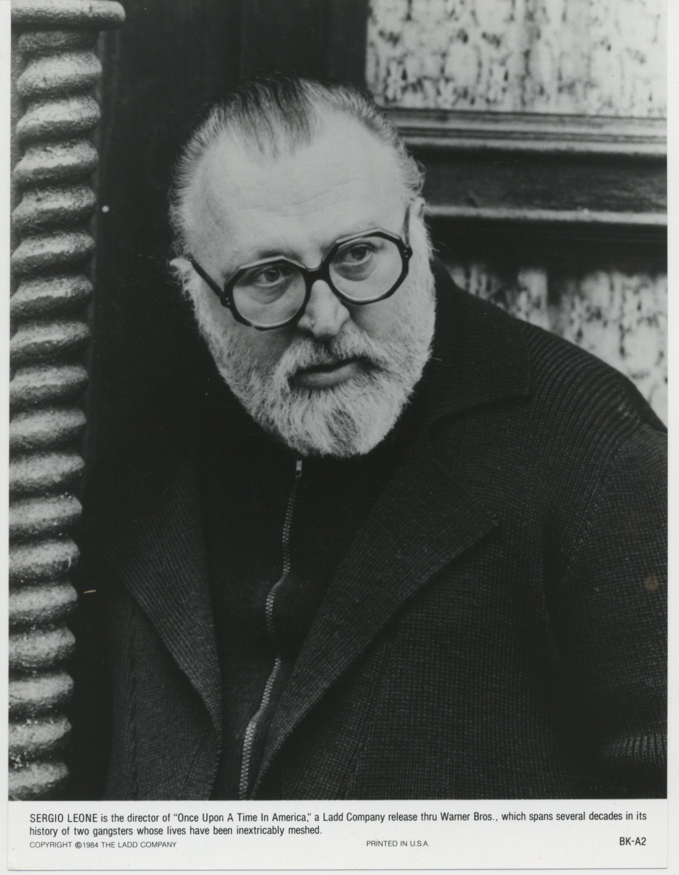 Sergio Leone in Once Upon a Time in America (1984)