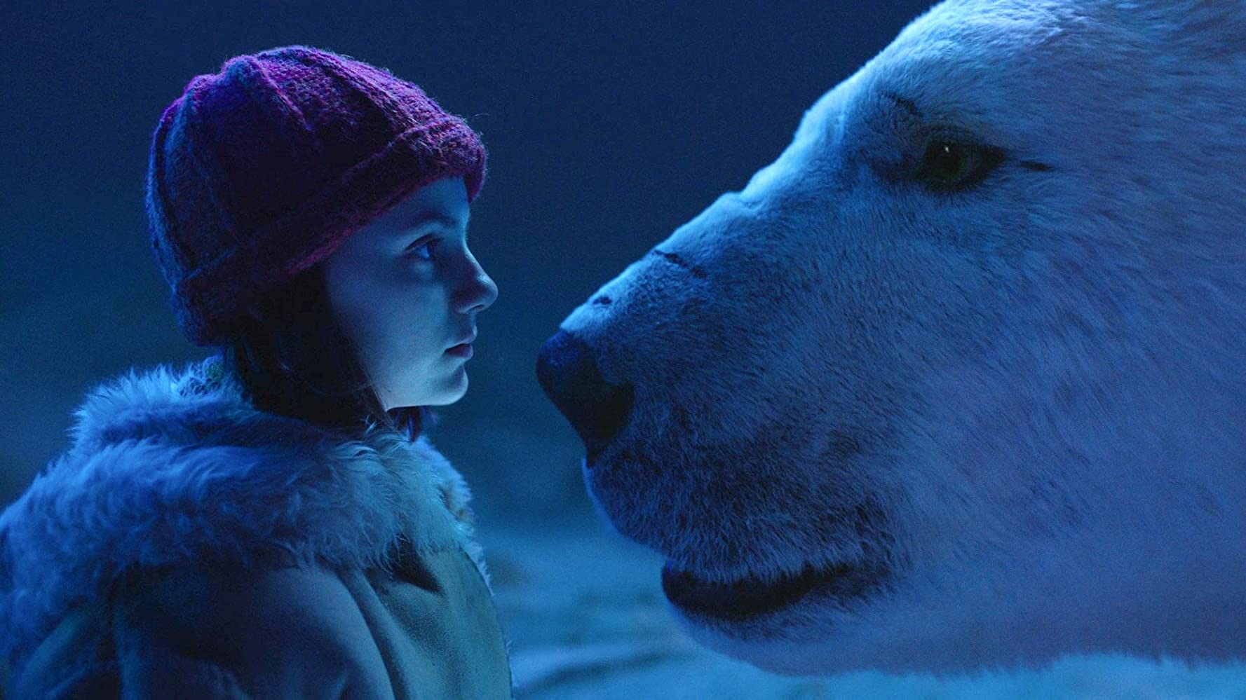 Dafne Keen and Joe Tandberg in His Dark Materials (2019)